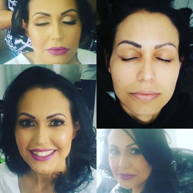 auxiliar cabeleireiro(a) assistente maquiador(a) escovista designer de sobrancelhas
