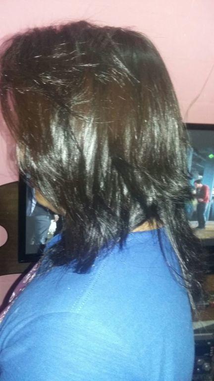 Depois da #Escova #Progressiva  auxiliar cabeleireiro(a)