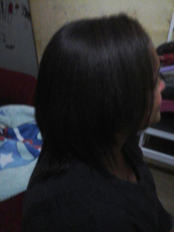 Escova Progressiva trouxe de volta todo brilho, macies,sedoso e com hidratação maravilhosa.. auxiliar cabeleireiro(a)