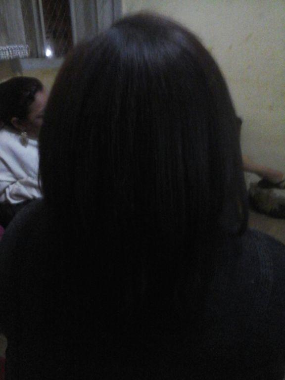 Escova Progressiva com sucesso nunca vê uma cliente sair tão satisfeita com o próprio cabelo.. Linda😊 auxiliar cabeleireiro(a)
