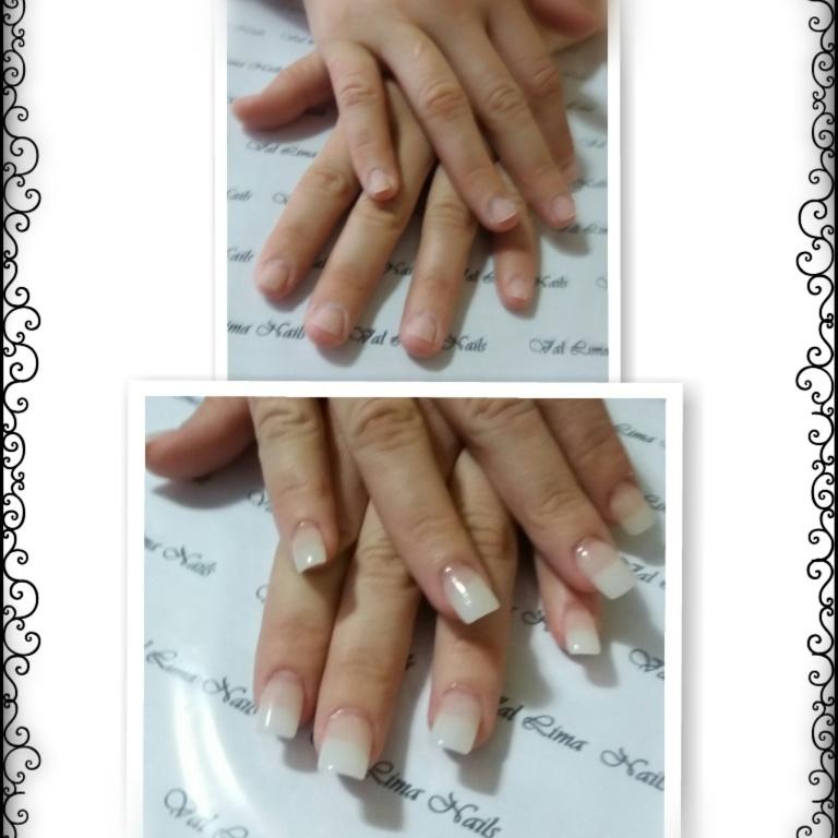 #unhasemgel manicure e pedicure