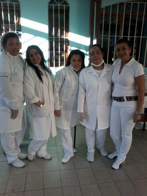 Eu e minhas amigas na Ação Social  no Acti Sasf Elisa Maria podólogo(a)