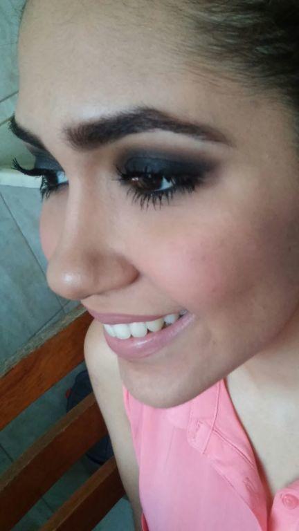 Esfumado preto #olhotudo maquiador(a)