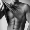 Depilação masculina de peito e abdomen