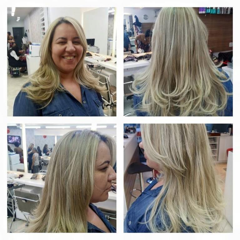 luzes, mechas,  cabelo  cabeleireiro(a) maquiador(a)