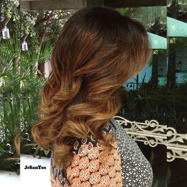 ombre hair, castanho, marrom, iluminado cabelo  cabeleireiro(a)