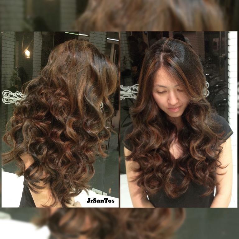 cachos, escova, dia a dia, penteado solto,  cabelo  cabeleireiro(a)