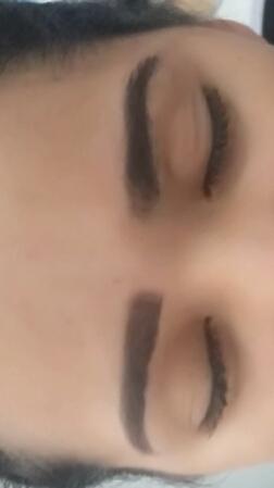 Esta foi so feita por mim.  micropigmentador(a) maquiador(a) cabeleireiro(a) designer de sobrancelhas