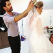 Produção #noiva #penteadopreso #coque #makeup by me