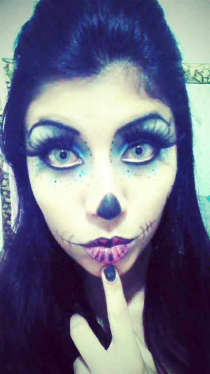 #Halloween #make estudante maquiador(a) designer de sobrancelhas recepcionista