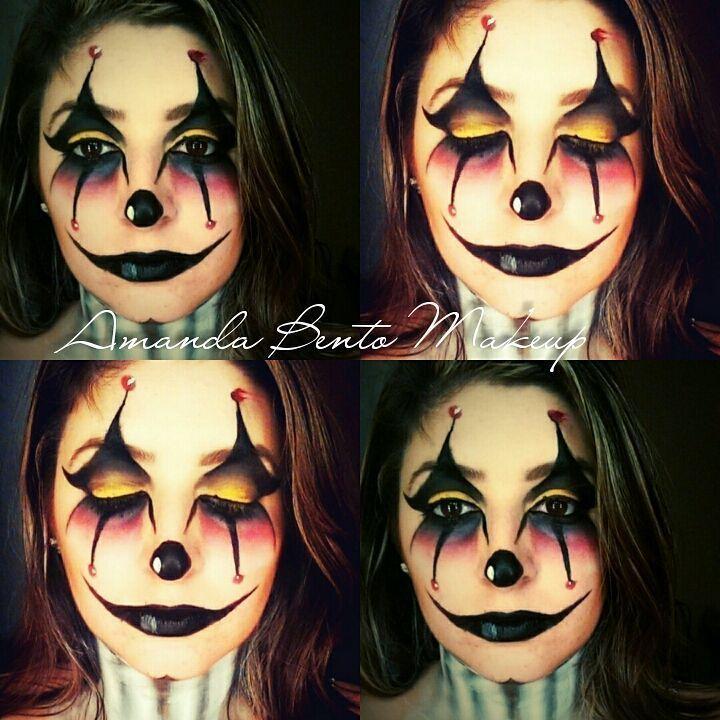 maquiagem halloween #clown #halloween #maquiagem #makeup  maquiador(a)