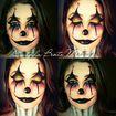 maquiagem halloween #clown #halloween #maquiagem #makeup