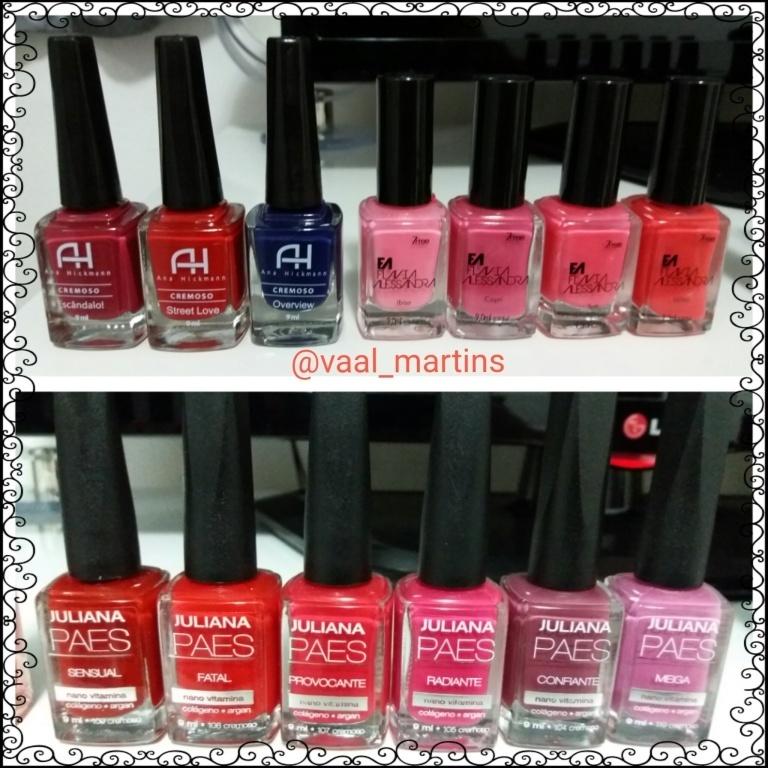 #AnaHickmann  #FlaviaAlessandra #JulianaPaes  manicure e pedicure