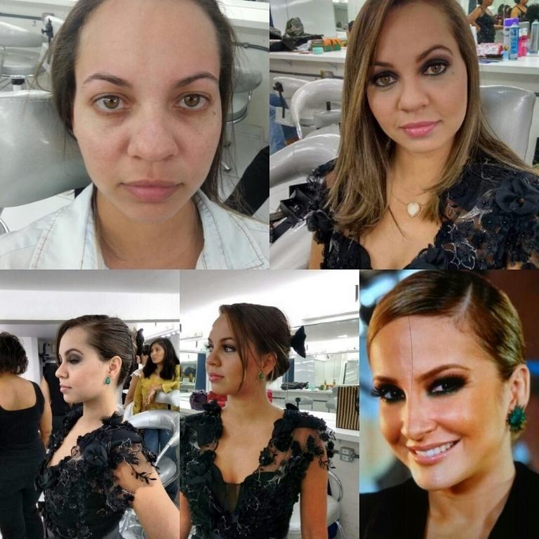 Make up inspirada na diva claudia leite designer de sobrancelhas maquiador(a) depilador(a) micropigmentador(a) dermopigmentador(a)