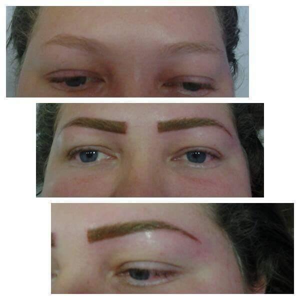 Micropigmentaçao feita por mim  designer de sobrancelhas maquiador(a) depilador(a) micropigmentador(a) dermopigmentador(a)