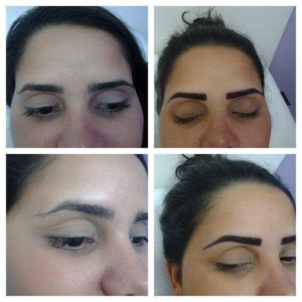 Micropigmentaçao compacta  designer de sobrancelhas maquiador(a) depilador(a) micropigmentador(a) dermopigmentador(a)