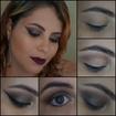 makeup neutra com mega delineado gatinho #delineado#gatinho#makeup#maquiadora