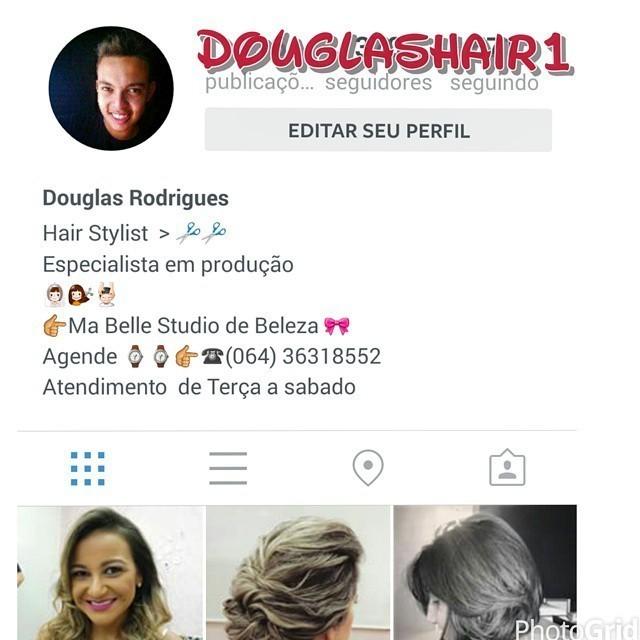 Sigam meu instagram @Douglashair1!!! cabeleireiro(a)
