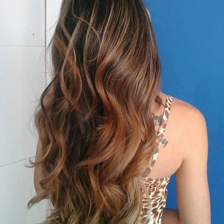 Caramelo Blond  . Wellabrasil  cabeleireiro(a)