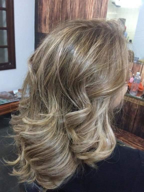 Loiro dourado  Wellabrasil  cabeleireiro(a)