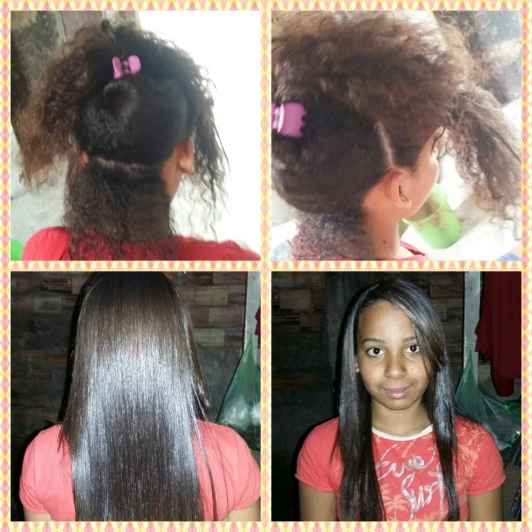 Selagem  Veja o antes e o depois.  Como ficou linda.  maquiador(a) cabeleireiro(a)