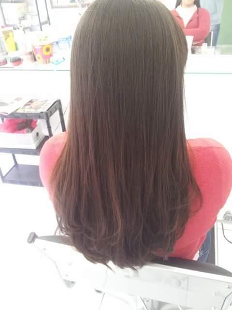Pós progressiva #ficarlisa cabeleireiro(a)