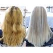 Antes e Depois #Cabeloamarelado - Mechas + Retoque de raiz. + Botox capilar  #cabelo #coloração #cabeloloiro #blondhair #cabeloamarelado #mechas #botoxcapilar