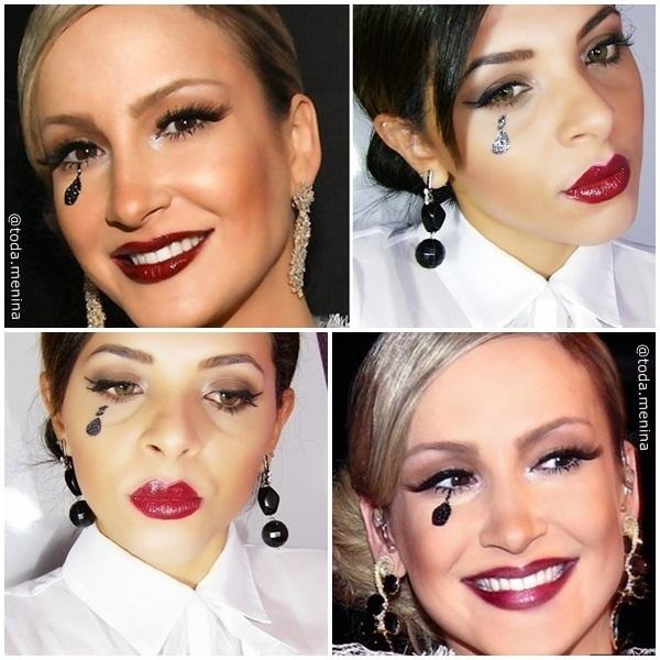 Maquiagem artística Inspirada na Cantora Claudia Leite  #makeup #artistic #maquillaje #make maquiador(a) cabeleireiro(a)