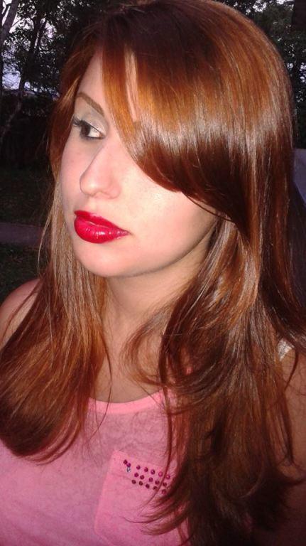 Coloração #ruiva estudante cabeleireiro(a)