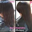 Antes e Depois - Escova Progressiva *Atendimento domiciliar  #escovaprogressiva #cabeloliso #cabelos #madeixas