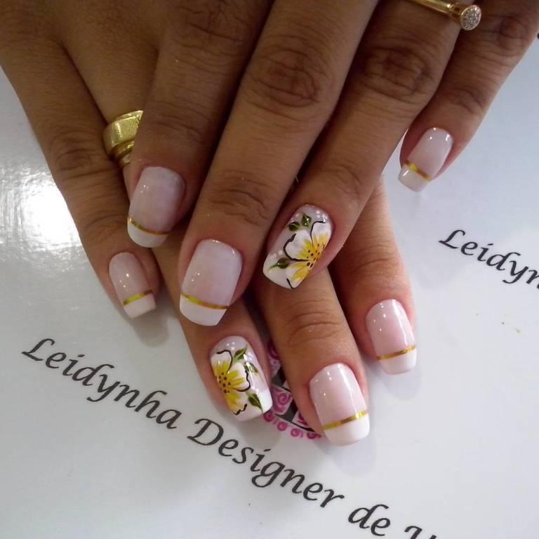 unhas para noivas #noivas #unhasdaleidynha manicure e pedicure