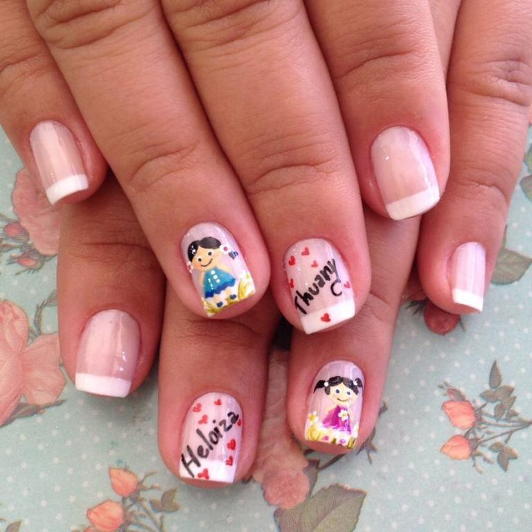 #unhasdaleidynha manicure e pedicure