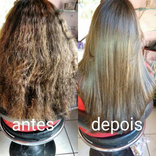 Botox Capilar. Toooop de linha. 👌 cabeleireiro(a) maquiador(a) manicure e pedicure