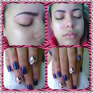 manicure e pedicure auxiliar cabeleireiro(a) designer de sobrancelhas