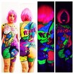 Body Paint - Tema: Street Art Neon