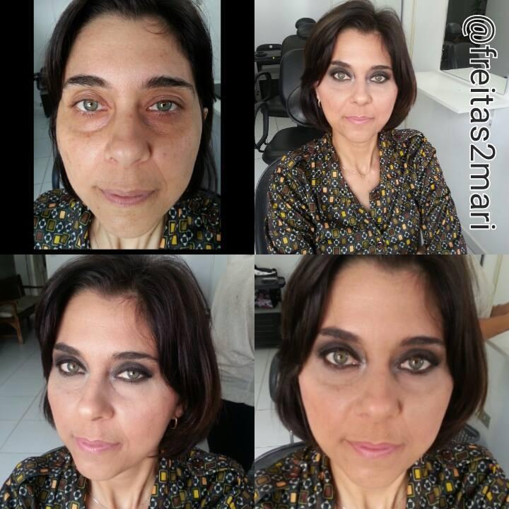 Smokey Eyes #Makeupbyfreitasmari #instamakeup #cosmedic #cosmedcs #fashion #instagood #beautiful #maquillaje #linda #festa #debutante #madrinha #social #noiva #balada maquiador(a)