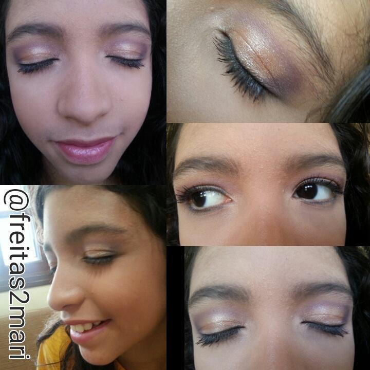 Daminha de honra #Makeupbyfreitasmari #instamakeup #cosmedic #cosmedcs #fashion #instagood #beautiful #maquillaje #linda #festa #debutante #madrinha #social #noiva #balada maquiador(a)
