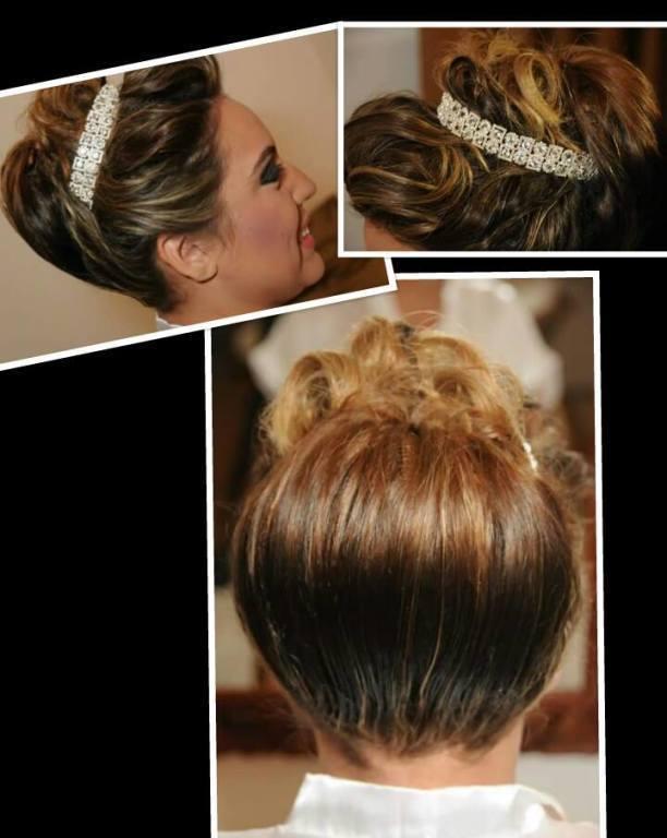 Noiva linda moderna!!! cabeleireiro(a) maquiador(a)