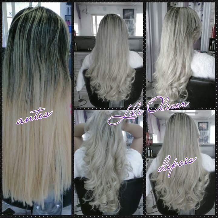 Luzes platinado cabeleireiro(a) micropigmentador(a)