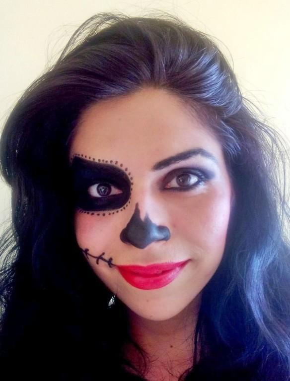 Halloween! maquiador(a) recepcionista