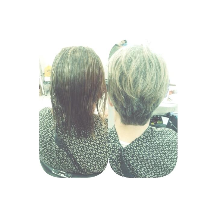 Antes/depois cabeleireiro(a)