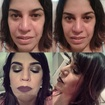 #MakeUp #Maquiagem #Hair #Cabelo #DesignSobrancelha #Cliente