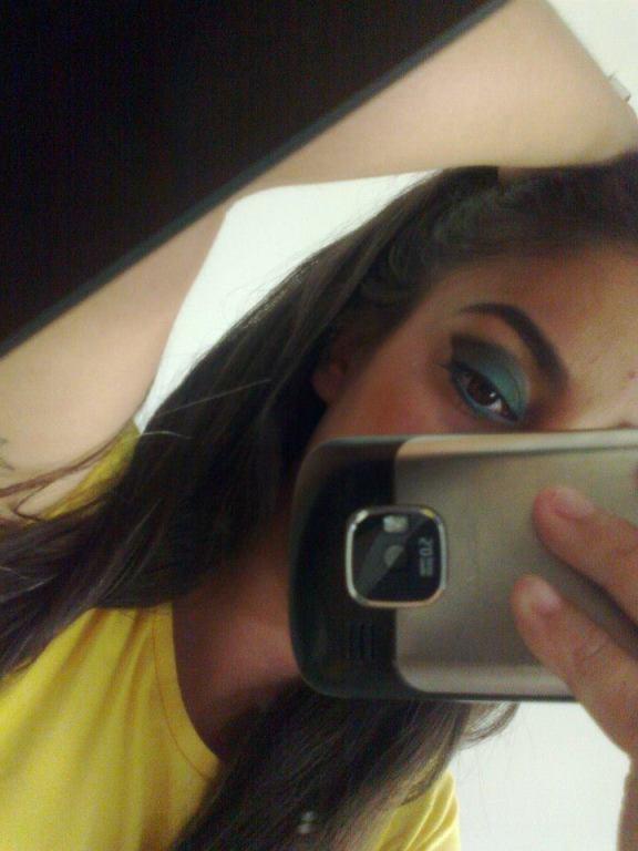 Eu me maquiando #amomake