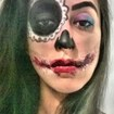 Make artístico Halloween