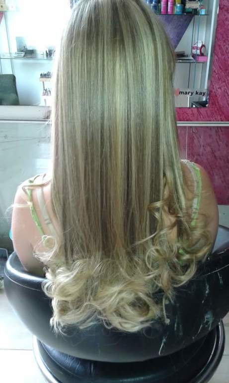 #mechas #escovamodelada cabeleireiro(a) manicure e pedicure maquiador(a)