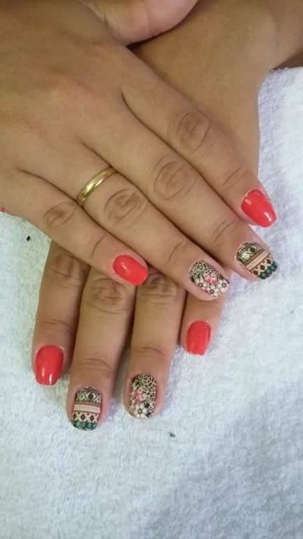 #Laranja #Nails  cabeleireiro(a) manicure e pedicure maquiador(a)