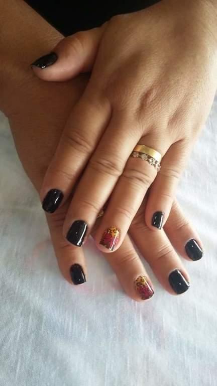 #Black #Nails  cabeleireiro(a) manicure e pedicure maquiador(a)