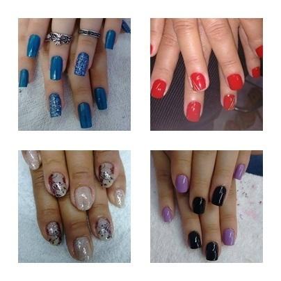Belo trabalho! Realizada pela proficional Cida #Lindas #Unhas #Nails empresário(a) / dono de negócio cabeleireiro(a)