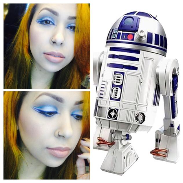 Maquiagem conceitual - Inspiração Star Wars. maquiador(a) designer de sobrancelhas