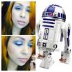 Maquiagem conceitual - Inspiração Star Wars.